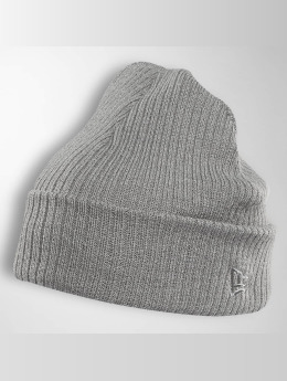 New Era Pipot Lightweight Cuff Knit harmaa