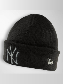 New Era Pipot Reflect Cuff Knit Ny Yankees musta