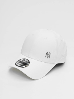 New Era Snapback Cap Flawless Logo Basic NY Yankees bianco