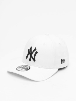 New Era Snapback Cap League Basic NY Yankees bianco