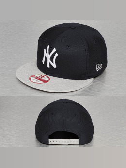 New Era Snapback Cap Jersey Diamond NY Yankees blau