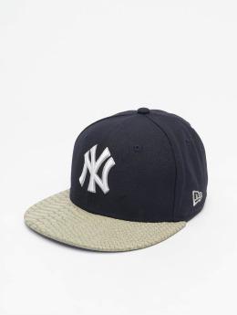 New Era Snapback Cap Kids Youth Reptvize New York Yankees 9Fifty blau
