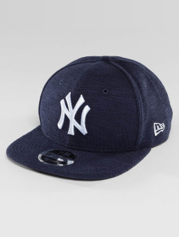 New Era Snapback Cap Slub NY Yankees 9Fifty blau