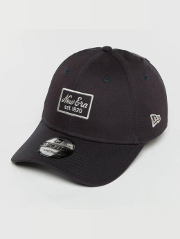 New Era snapback cap Script Patch 9Forty blauw