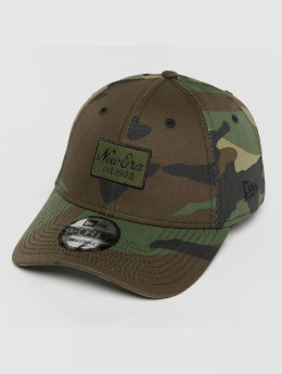 New Era snapback cap Script Patch 9Forty camouflage