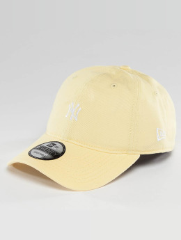 New Era Snapback Cap Pastel Micro NY Yankees 9Twenty gelb
