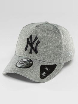 New Era Snapback Cap Jersey Tech A-Frame NY Yankees grau