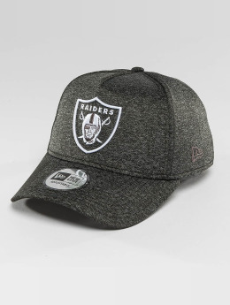 New Era Snapback Cap Jersey Tech A-Frame Oakland Raiders grau