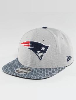 New Era snapback cap NFL On Field New England Patriots grijs