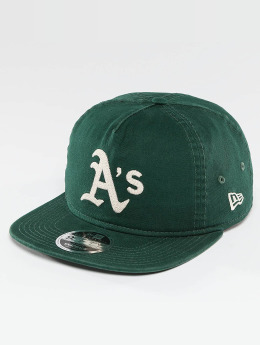 New Era snapback cap Chain Stitch Oakland Athletics groen