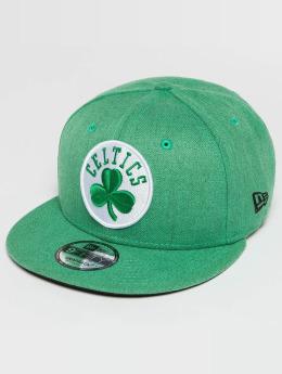 New Era Snapback Cap Team Heather Boston Celtics 9Fifty grün