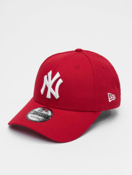New Era Snapback Cap League Basic NY Yankees 9Forty rosso