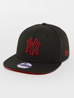New Era Snapback Cap Kids Youth Pop Outline New York Yankees 9Fifty schwarz