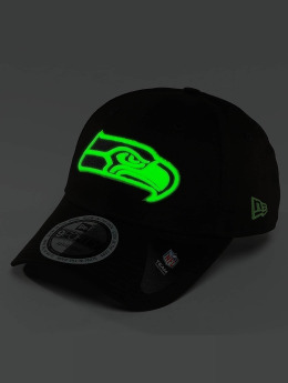 New Era Snapback Cap Team GITD Basic Seattle Seahawks schwarz