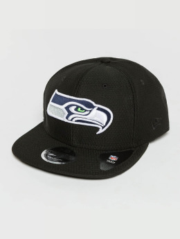New Era Snapback Cap Dryera Tech Seattle Seahawks 9Fifty Snapback schwarz