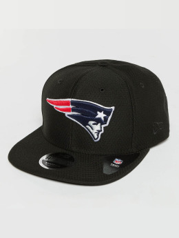 New Era Snapback Cap Dryera Tech New England Patriots 9Fifty schwarz