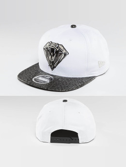 New Era snapback cap Snakediamond wit