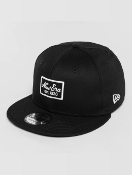 New Era snapback cap Script Patch 9Fifty zwart