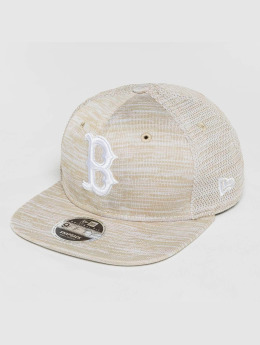 New Era Snapback Caps Engineered Fit Boston Red Sox 9Fifty beige