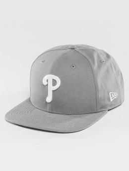New Era Snapback Caps Lightweight Essential Philadelphia Phillies Cooperstown 9Fifty harmaa