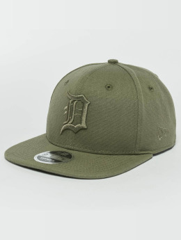 New Era Snapback Caps Canvas Detroit Tigers 9Fifty khakiruskea