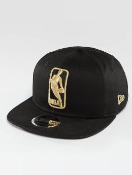 New Era Snapback Caps League Logo NBA Logo 9Fifty musta