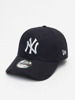 New Era Snapback Caps League Basic NY Yankees 9Forty niebieski
