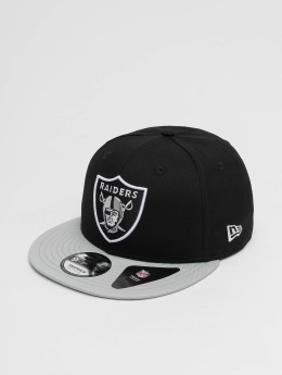 New Era Snapback Caps Super Oakland Raiders svart
