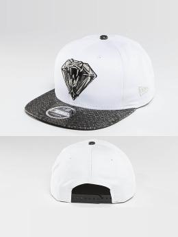 New Era Snapback Caps Snakediamond valkoinen