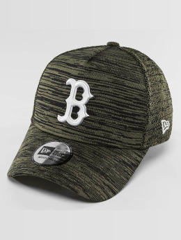 New Era Snapback Engineered Fit Boston Red Sox 9Fifty olivová