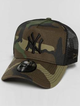 New Era Trucker Cap lean NY Yankees mimetico