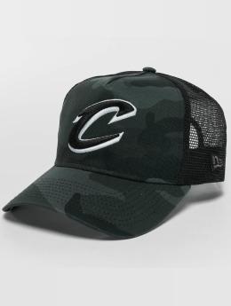 New Era Trucker Washed Camo Cleveland Cavaliers Trucker Cap maskáèová