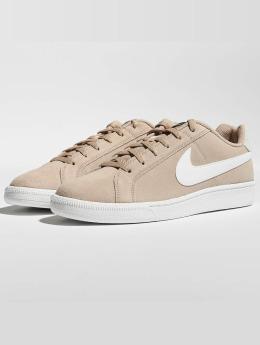Nike Сникеры Court Royale Suede бежевый