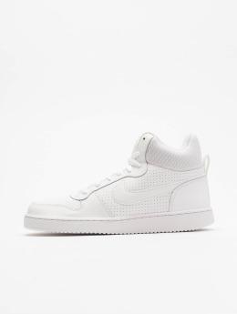 Nike Сникеры Court Borough Mid белый