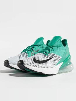 Nike Сникеры Air Max 270 Flyknit зеленый