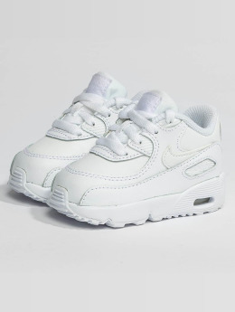 Nike Baskets Air Max 90 Leather Toddler blanc