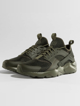 Nike Baskets Air Huarache Run Ultra kaki