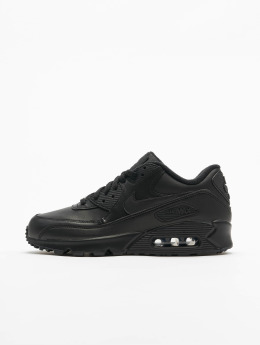 online retailer 50563 57617 Nike Baskets Air Max 90 Leather noir