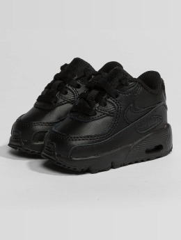 Nike Baskets Air Max 90 Leather Toddler noir