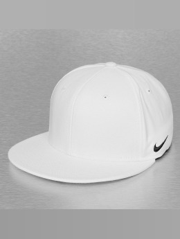 Nike Casquette Flex Fitted True Swoosh blanc