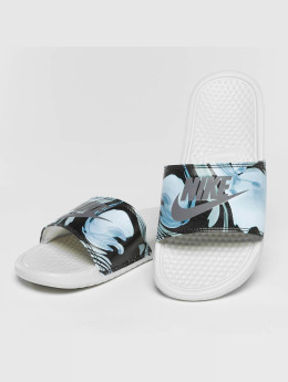 Nike Claquettes & Sandales Benassi Just Do It blanc
