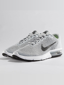 Nike Performance Baskets Air Max Sequent 2 gris