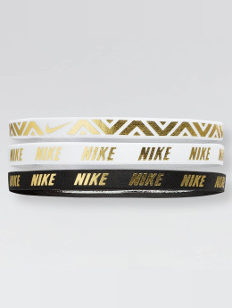 Nike Performance Svettebånd Metallic 3 Pack  hvit