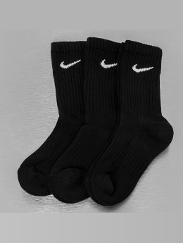 Nike Ponožky Value Cotton Crew èierna