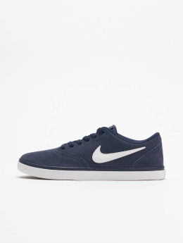 Nike SB Baskets Check Solarsoft Skateboarding bleu