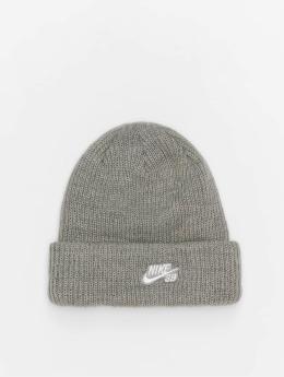 Nike SB Beanie Fisherman grau