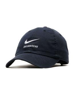 Nike SB Fitted Cap Heritage 86 Twill Cap schwarz