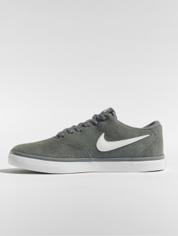 Nike SB Sneaker Check Solarsoft Skateboarding grigio