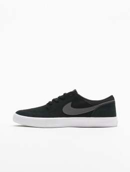 Nike SB Sneaker  Solarsoft Portmore ll nero