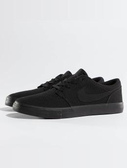 Nike SB Sneaker Solarsoft Portmore II schwarz